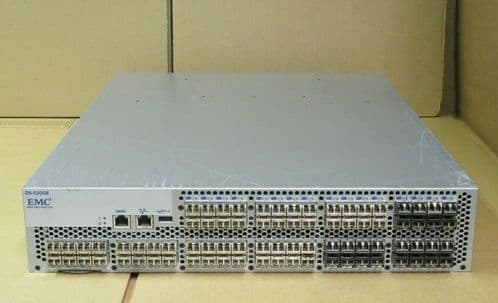 Brocade EMC DS-5300B 5300 80Port Active 8Gb FC Switch EM-5320 + Licenses 8G SFPs